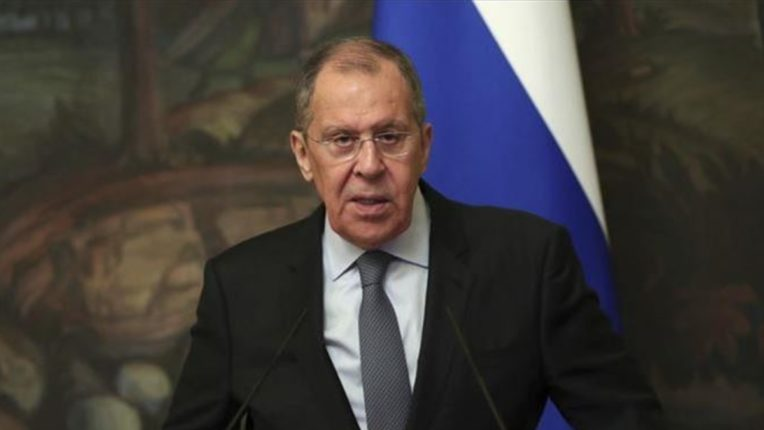Russian foreign minister targets sanctions at United Nations