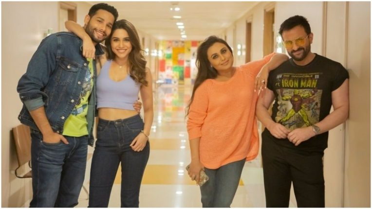 Shooting of Bunty Aur Babli 2, see photos