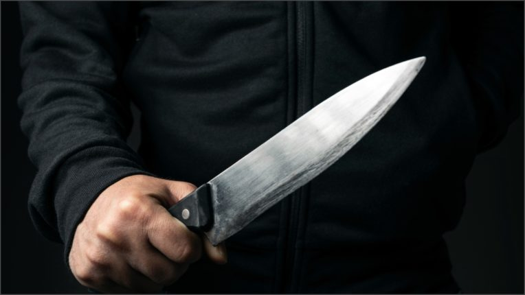 Son stabbed mother with knife
