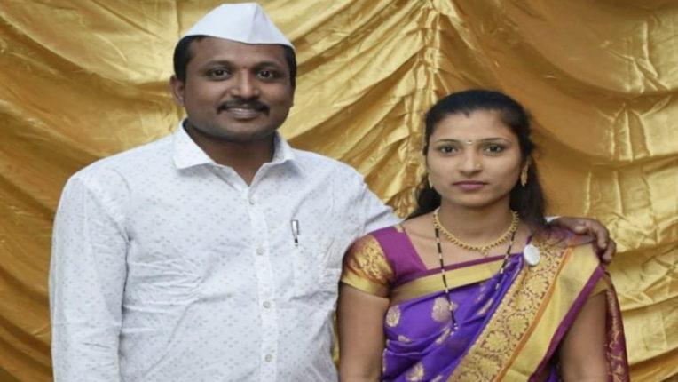 पति के विरह में पत्नी ने लगाई फांसी