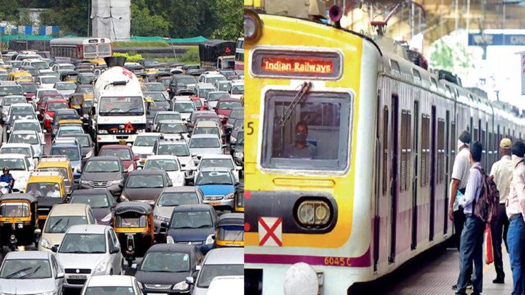 रोड पर रेलवे की भीड़, 3 हजार की जगह 700 लोकल