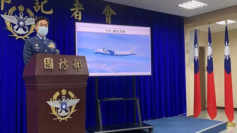बीते दो दिन में चीन के विमान दो बार हमारे हवाई क्षेत्र में घुसे : ताइवान