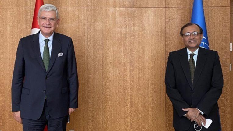 India's Ambassador to the United Nations Tirumurthy calls on Chairman Volkan Bozkir