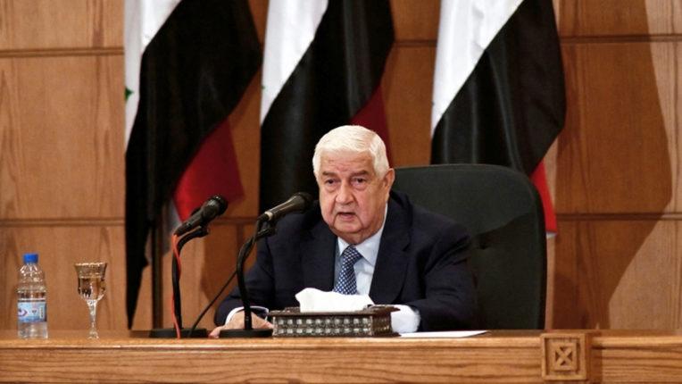 सीरिया के मंत्री ने तुर्की को क्षेत्र में आतंकवाद का मुख्य प्रायोजक बताया