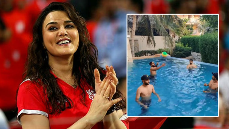 actress-and-kings-xi-punjab-co-owner-preity-zinta-in-quarantine-in-uae-before-ipl-2020