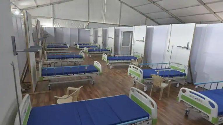 जंबो हॉस्पिटल में 250 बेड तैयार !