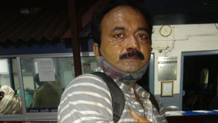 वनरक्षक के साथ फर्नीचर दुकानदार ने की मारपीट
