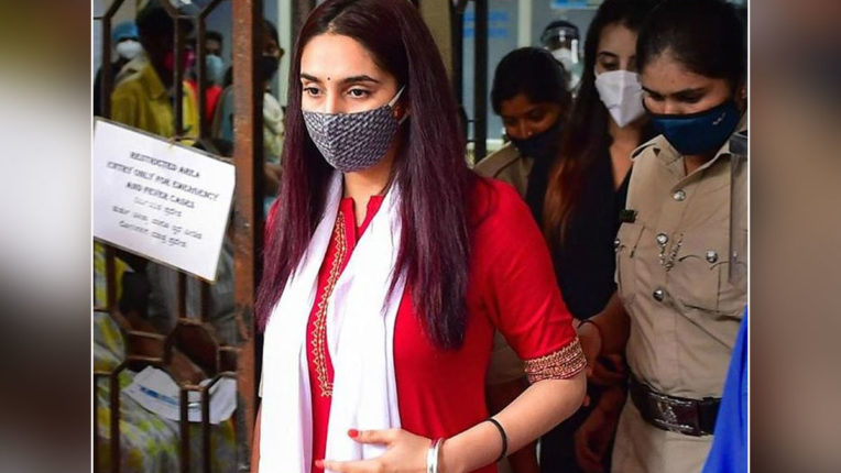 drugs-case-kannada-actress-ragini-dwivedi-remanded-to-14-day-judicial-custody