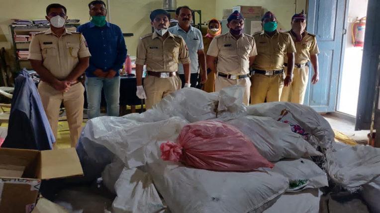 मुर्तिजापुर में 2.77 लाख रु. का गुटका व अन्य सामग्री जब्त, शहर पुलिस ने की कार्रवाई