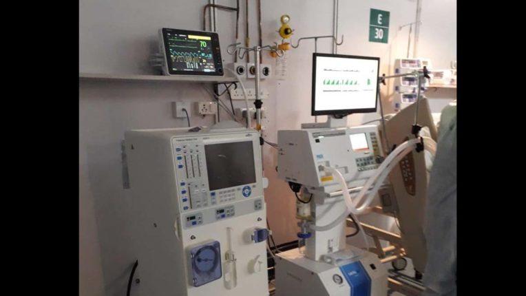 जंबो अस्पताल में 10 डायलिसिस मशीनें उपलब्ध