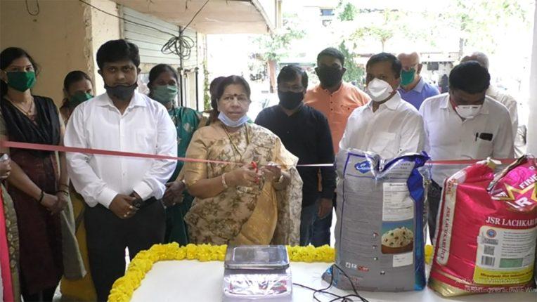 सानपाड़ा में खुला नवी मुंबई का पहला महिला जनता स्टोर