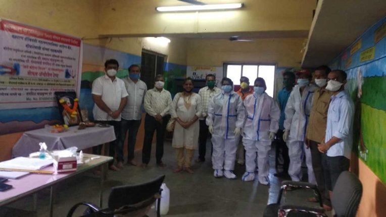कल्याण पूर्व में मुफ्त एंटीजेन टेस्ट, नागरिकों का मिला भारी प्रतिसाद