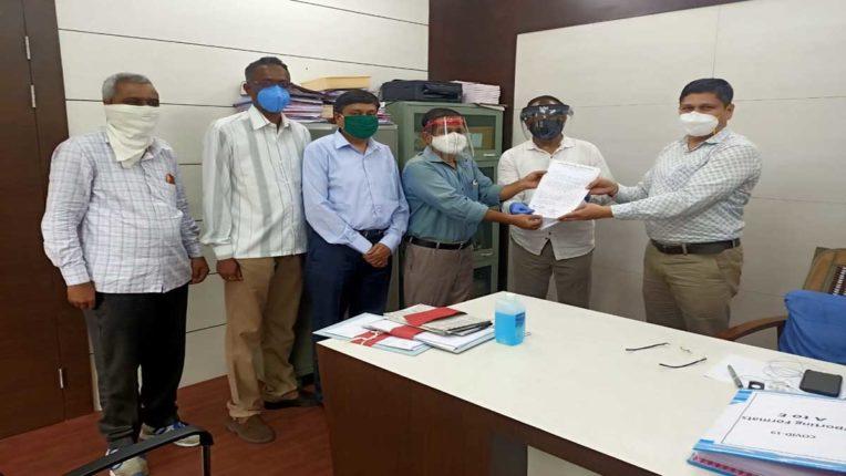 राजपत्रित अधिकारियों ने कोंकण आयुक्त को दिया ज्ञापन