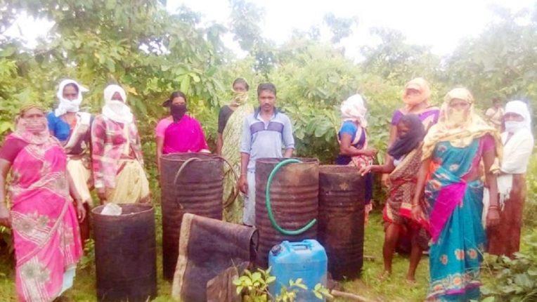 87 बोरे सडवा महुआ और साहित्य नष्ट