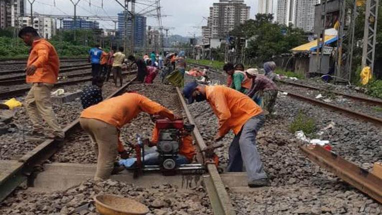 मध्य रेल का रात्रिकालीन ट्रैफिक और पावर ब्लॉक 28-29 नवंबर को