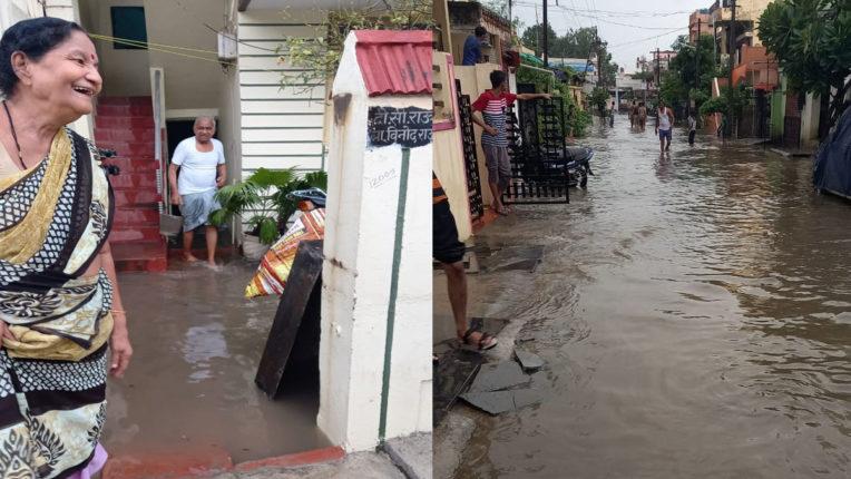 वर्धा में रिकॉर्ड ब्रेक बारिश, जमकर बरसे मेघ