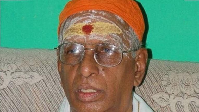 हिंदू मुन्नानी के संस्थापक रामागोपालन का निधन