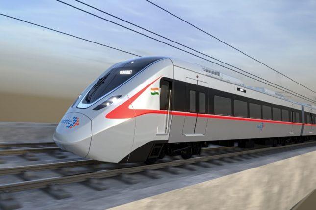 RRTS ट्रेन की पहली झलक सामने आयी, 180 किलोमीटर प्रतिघंटा की रफ्तार से चलेगी