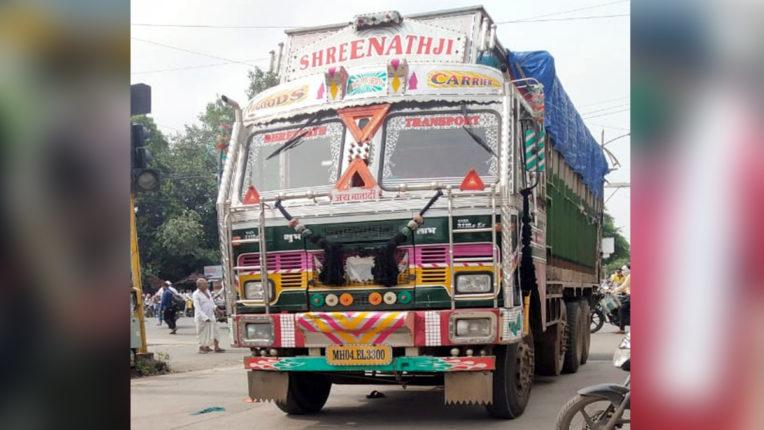 ट्रक ने साइकिल सवार को रौंदा, गाडगे नगर थाने के सामने हादसा