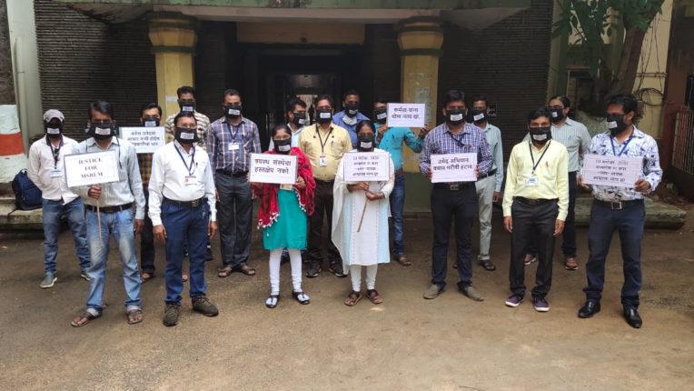 पुनर्नियुक्ति नहीं दिए जाने से जिले के 400  कर्मियों का भविष्य अधर पर