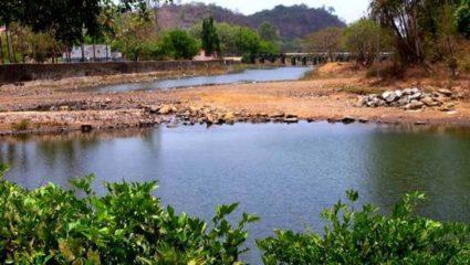 चेना नदी पर जलबंध से बुझेगी प्यास