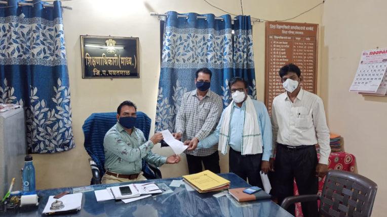 यवतमाल जिले में कोविड-19 काम से शिक्षकों को कार्यमुक्त करें-खान