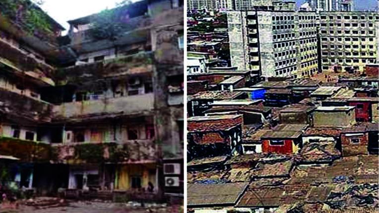 मुंबई को विश्वस्तरीय शहर बनाने में जर्जर इमारतें और स्लम बड़ी बाधा