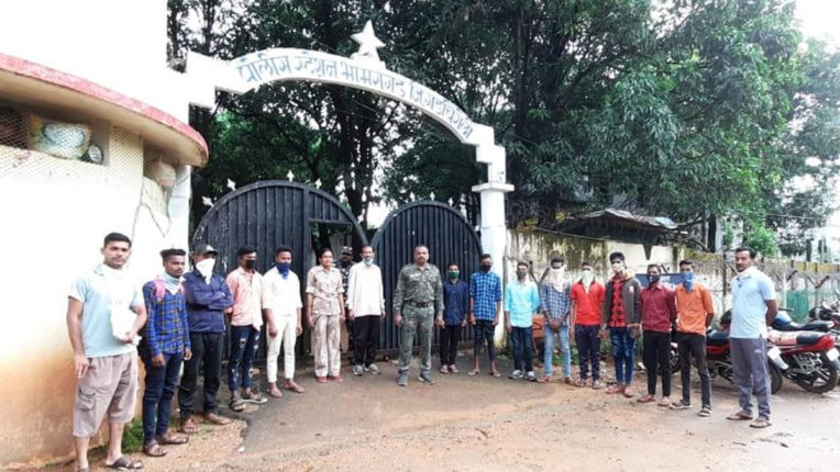 38 well-educated unemployed get employment with the help of police