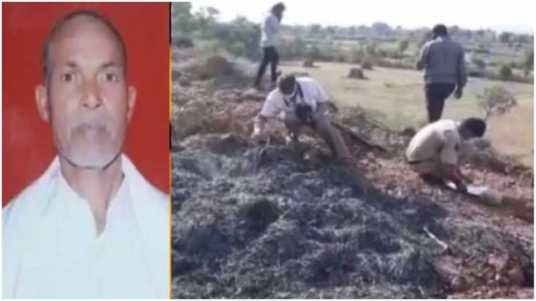 50-year-old temple priest set on fire by land mafia in Karauli