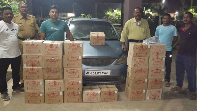 6.80 lakh goods seized including liquor