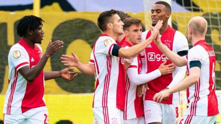 Ajax set new Eredivisie win record with 13-0 drubbing of VVV