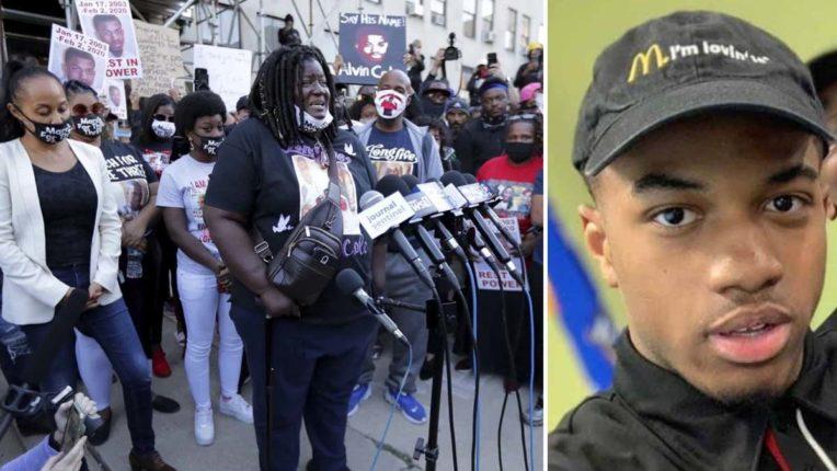 अश्वेत किशोर मौत : प्रदर्शनकारियों पर आंसू गैस का इस्तेमाल, 28 लोग गिरफ्तार