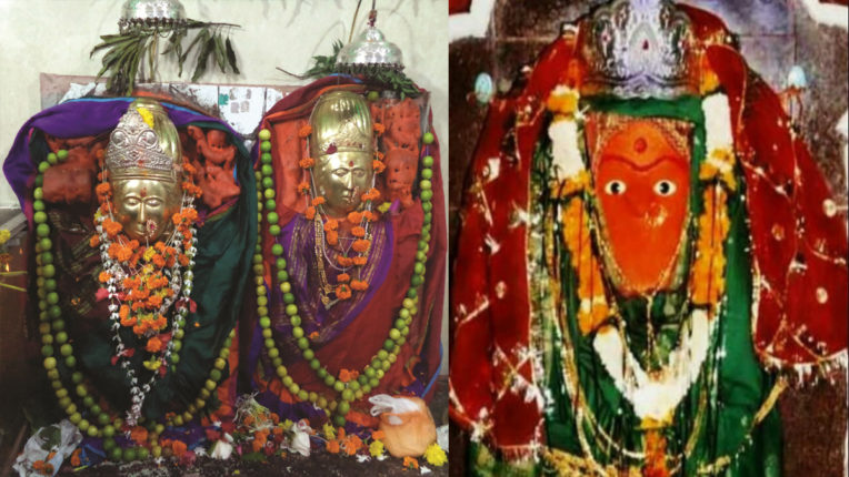 Ambai Nimbai Mata and Chandika Mata Pavani