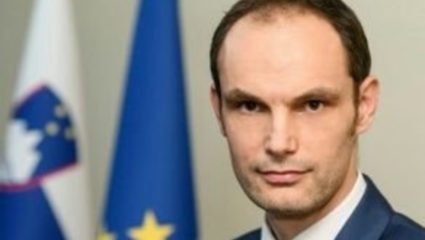 Slovenia's Foreign Minister Anze Logar Corona found infected