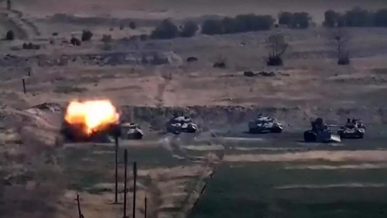 Azerbaijan claims: Armenia strikes out of Nagorno-Karabakh