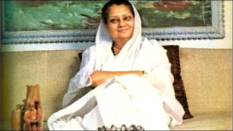 BJP leaders remember his contribution on Vijayaraje Scindia's birth anniversary