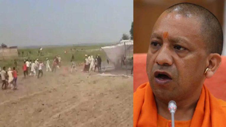 Balliya BJP Leader Firning