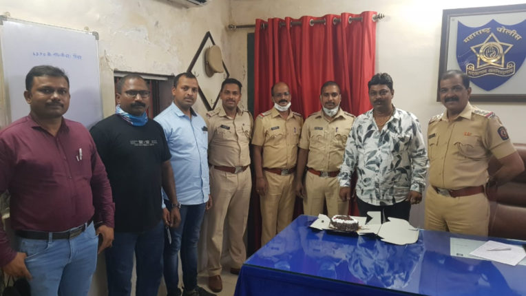 birthday of an alleged history sheeter celebrated in police station, video surfaced while feeding cake