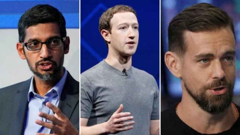 CEO of top social media companies refutes claims of bias, says - will protect the purity of elections