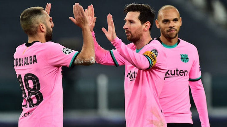 Champions League Messi and Barcelona ease past Juventus, Chelsea and Man United cruise