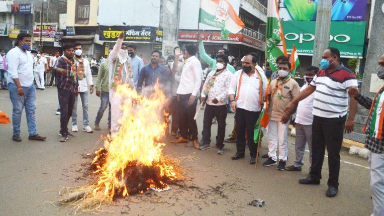 राहुल गांधी से धक्का मुक्की लोकतंत्र का अपमान