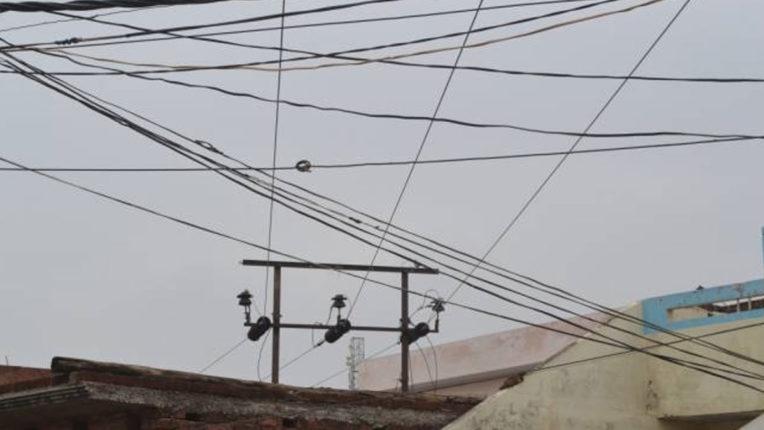 Danger of swinging wires