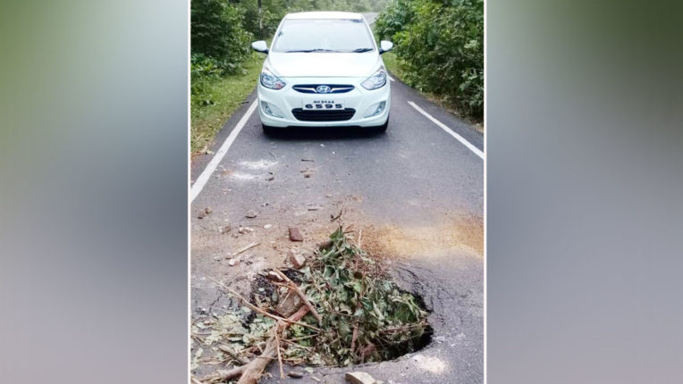 Deadly crater causing accident