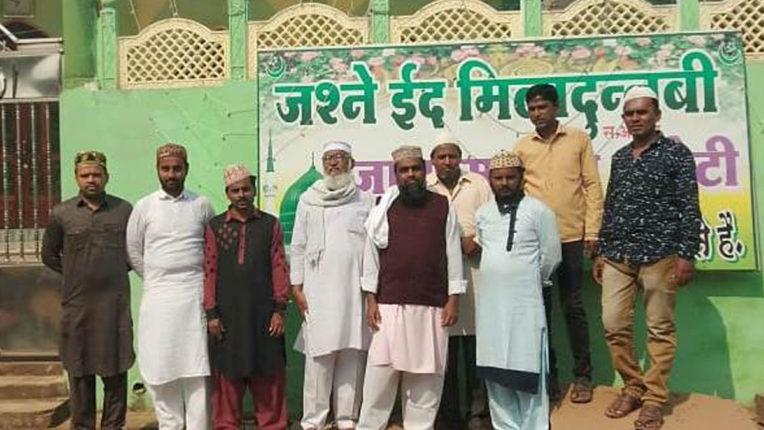 Eid celebrate with simplicity in Kurkheda