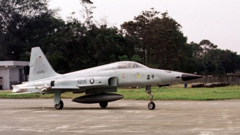 Air Force F-5E fighter plane in Taiwan, pilot killed