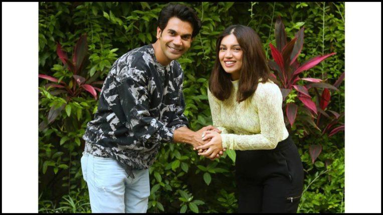 Filming of Rajkumar Rao and Bhumi Pednekar's film Badhaai Do in January 2021