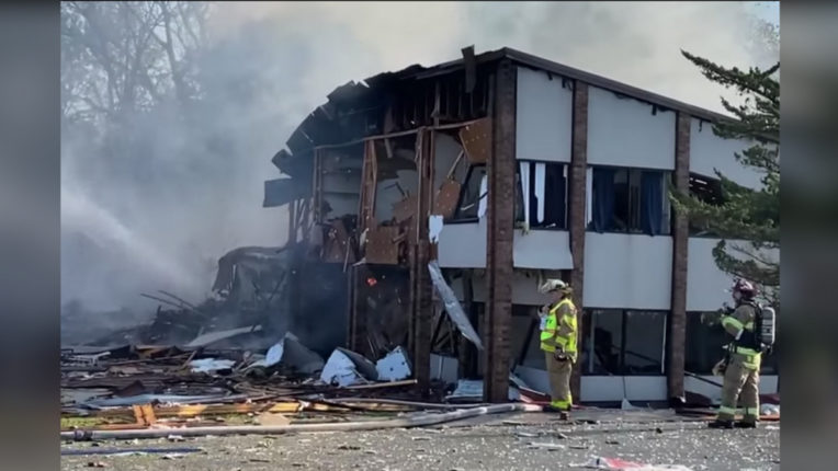 हैरिसनबर्ग के मॉल में विस्फोट, पांच लोग घायल