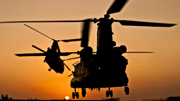 2 helicopters of Afghanistan army collide, 9 soldiers killed