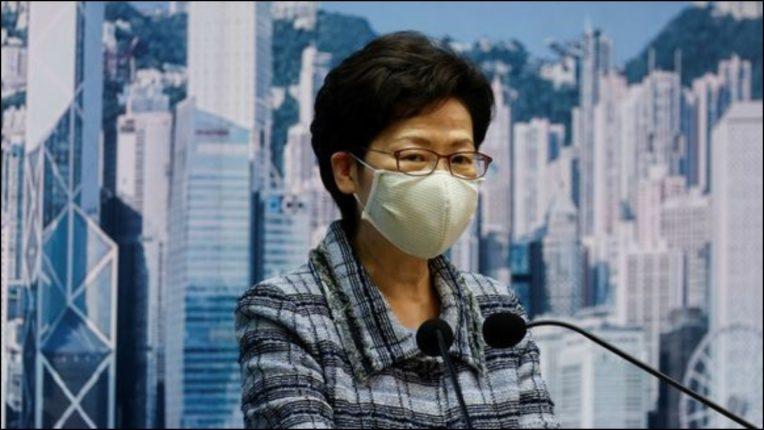Hong Kong leader postponed his address till Beijing tour