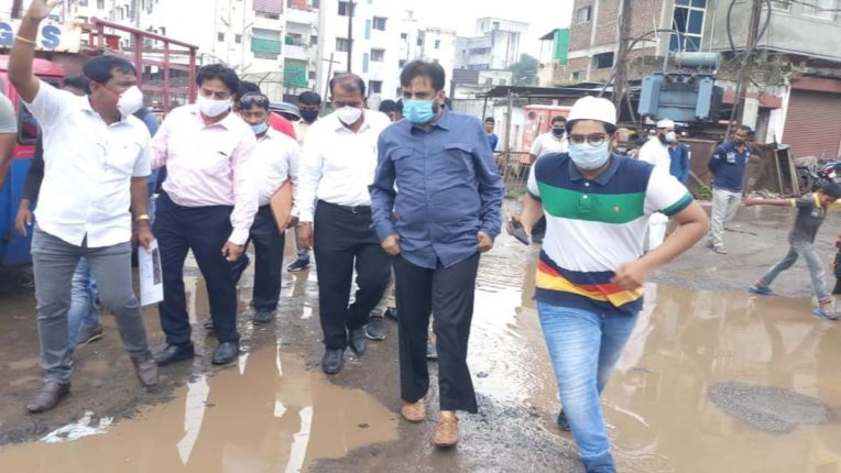 औरंगपुरा-बारुदगर नाला सड़क का काम जल्द शुरु होगा